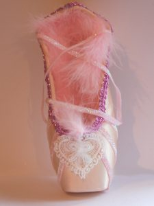 Decorated Ballet Shoe